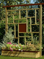 Découvrez la jardiničre Boréal de marque Durapin