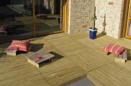Découvrez les dalles de terrasse de marque durapin